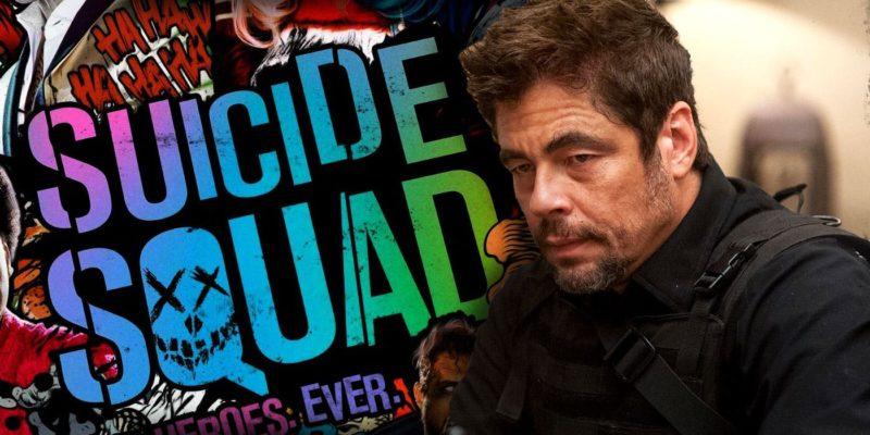 Benicio Del Toro Suicide Squad