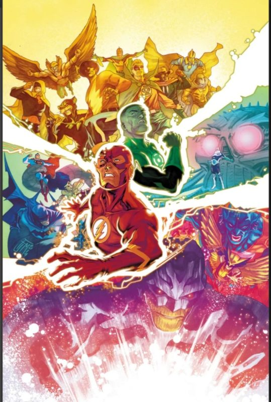 Justice League 31 Cover
