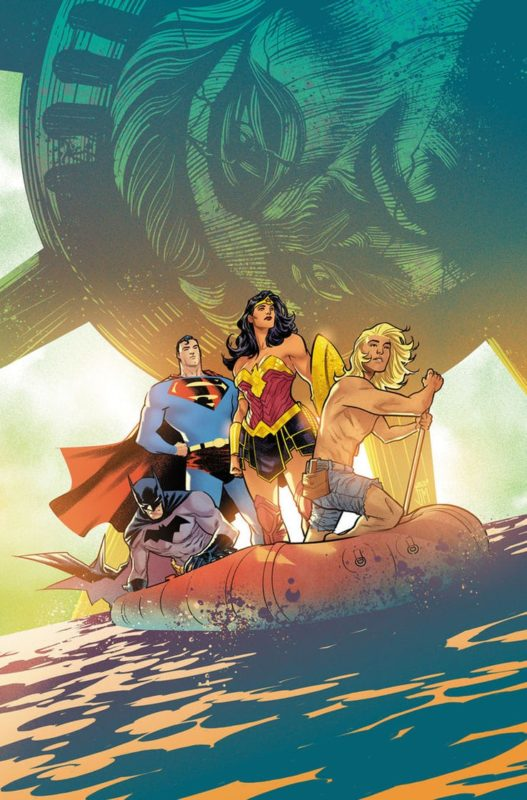 Justice League 32 Cover