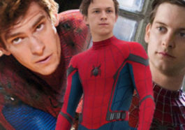 Tom Holland Tobey Margurie Dan Andrew Garfield Spider Verse