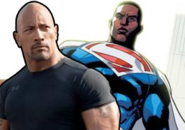 Dwayne Johnson Superman Kulit Hitam