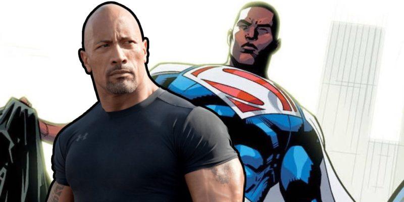 Dwayne Johnson Superman Kulit Hitam
