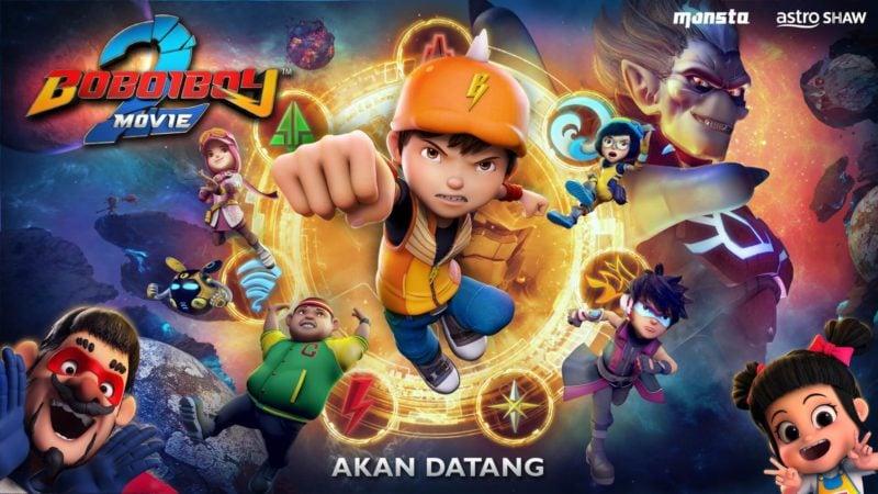 Jadwal Tayang Boboiboy Movie 2