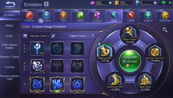 Build Kimmy Mobile LegendsCustom mage emblem -