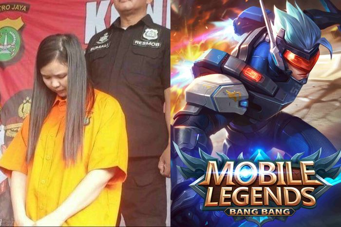 Gamers wanita membobol bank demi membeli item di mobile legends!