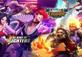 Kolaborasi, iori dan leona akan segera hadir di mobile legends! dg