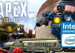 Lancar, youtuber ini coba mainkan apex legends di intel hd! gamedaim