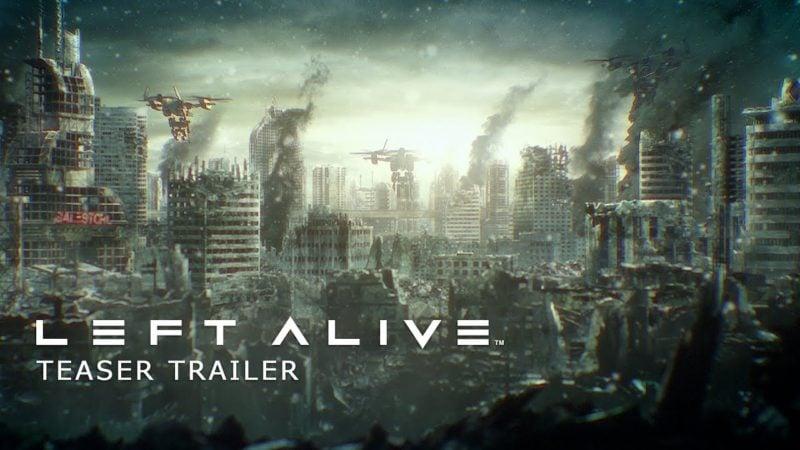 Left alive trailer