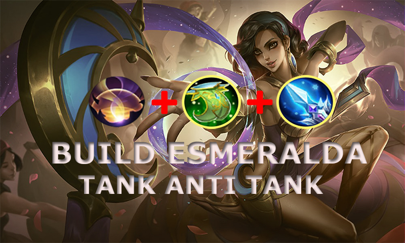 Build esmeralda mobile legends