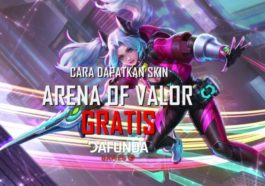 Cara mendapatkan skin arena of valor aov gratis