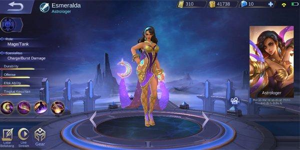 Guide esmeralda skill