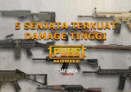 Senjata terkuat damage tinggi pubg mobile