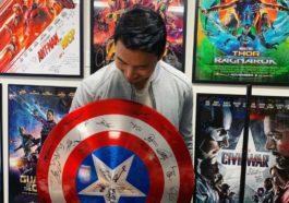 Simu Liu Captain America