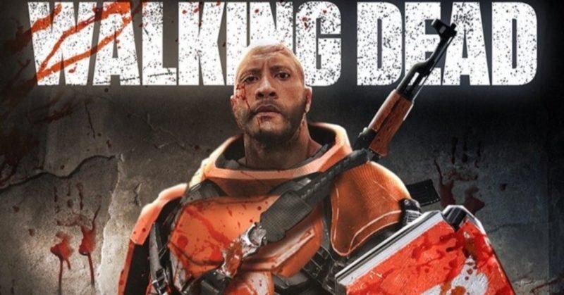 The Walking Dead Dwayne Johnson