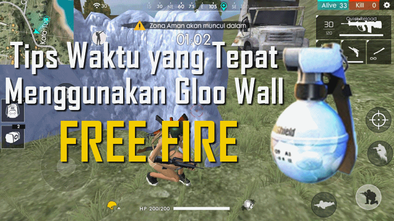Tips gloo wall free fire