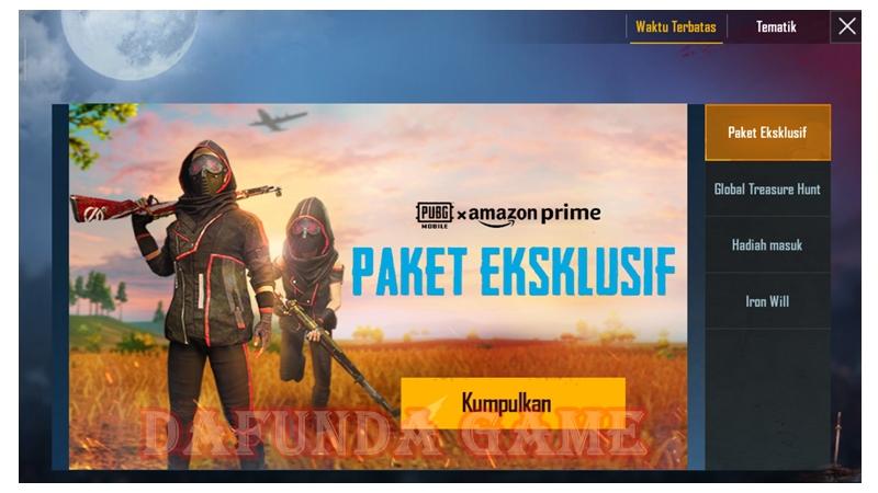 PUBG Mobile X Amazon 1