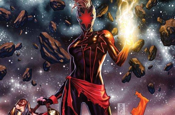 Captain Marvel Bunuh Avengers