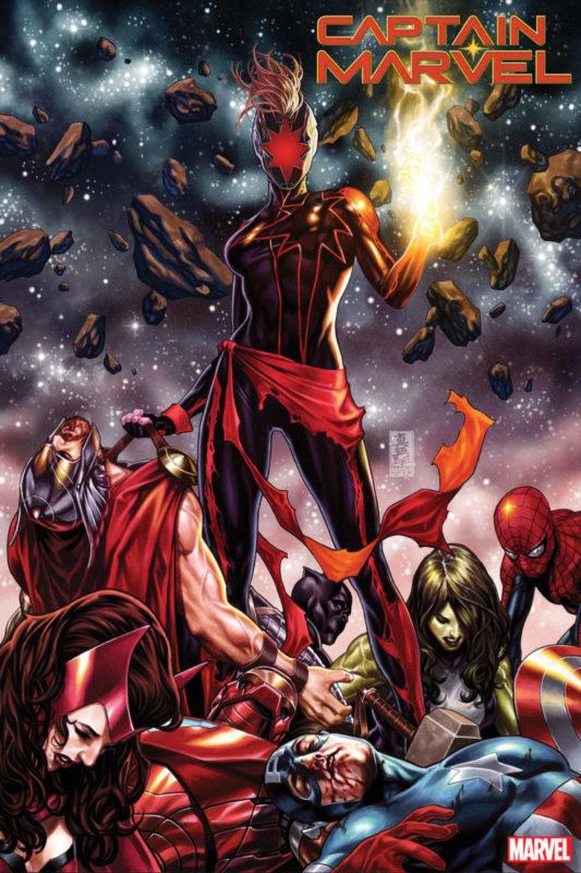 Captain Marvel Last Avengers 1