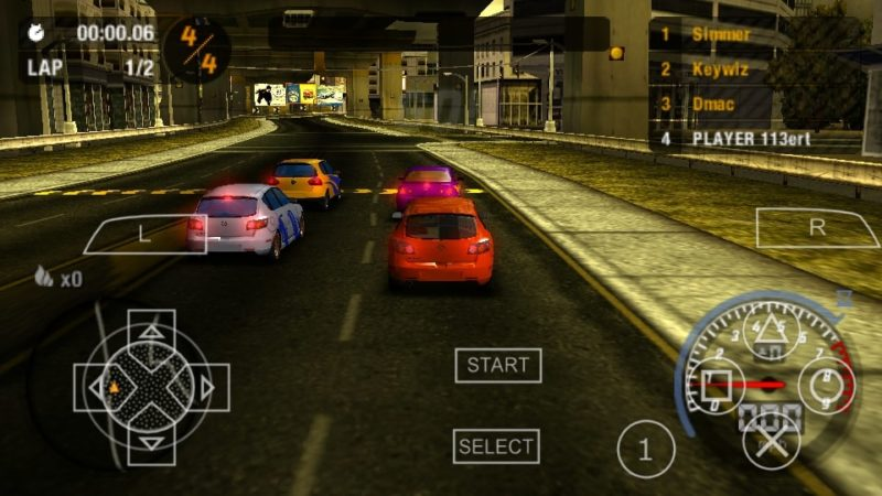 Game Ppsspp Most Wanted