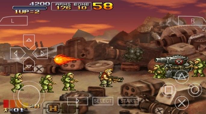 Game Ppsspp Terbaik Metal Slug Xx