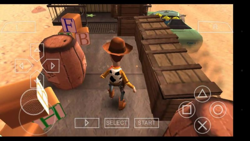 Game Ppsspp Terbaik Toy Story 3