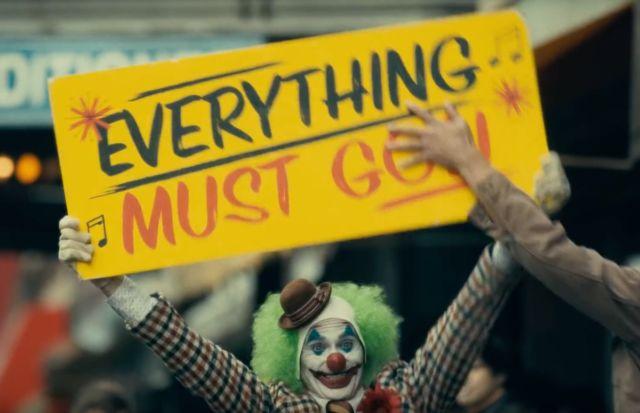 Joker Everything Must Go