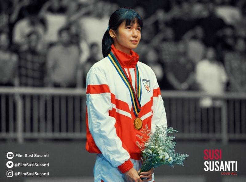 Susi Susanti Love All Poster