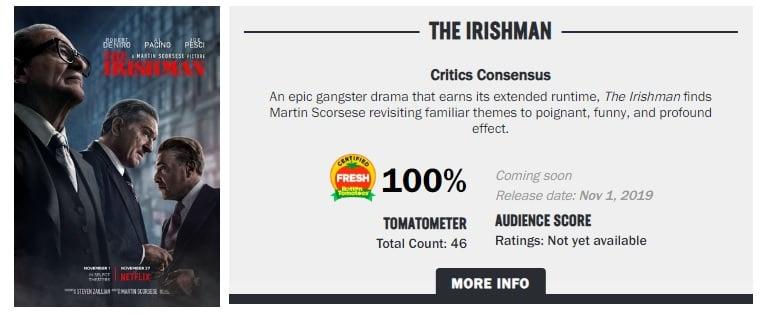 The Irishman Rt