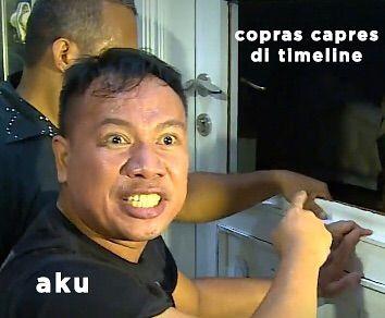 10 Meme Lucu Ekspresi Vicky Prasetyo Saat Grebek Rumah Angel Lelga Ini Bikin Ngakak! Capres