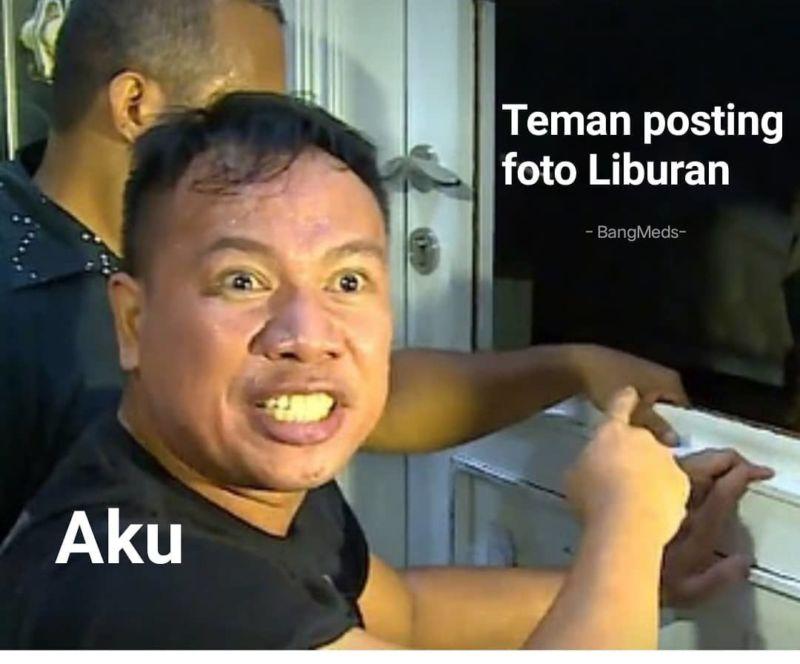 10 Meme Lucu Ekspresi Vicky Prasetyo Saat Grebek Rumah Angel Lelga Ini Bikin Ngakak! Posting