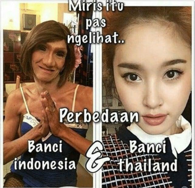 10 Meme Lucu Indonesia Vs Luar Negeri Ini Dijamin Bikin Ngakak! Banci