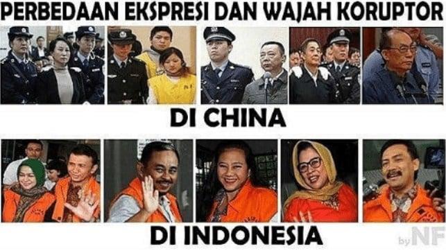 10 Meme Lucu Indonesia Vs Luar Negeri Ini Dijamin Bikin Ngakak! Koruptor