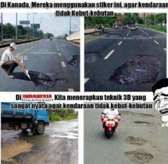 10 Meme Lucu Indonesia Vs Luar Negeri Ini Dijamin Bikin Ngakak! Tekhnik 2d
