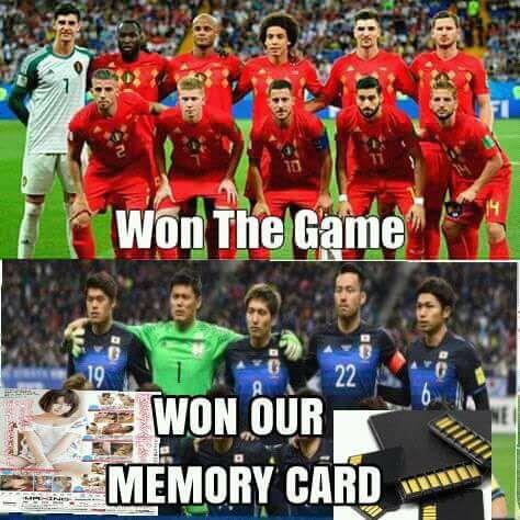 10 Meme Lucu Kekalahan Jepang Vs Belgia Ini Dijamin Bikin Ngakak! 2
