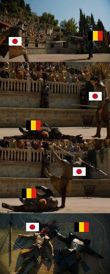 10 Meme Lucu Kekalahan Jepang Vs Belgia Ini Dijamin Bikin Ngakak! 8