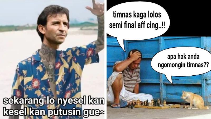 10 Meme Lucu Timnas Indonesia Gagal Ke Semifinal Piala Aff Ini Bikin Ngakak! Dafunda Gokil