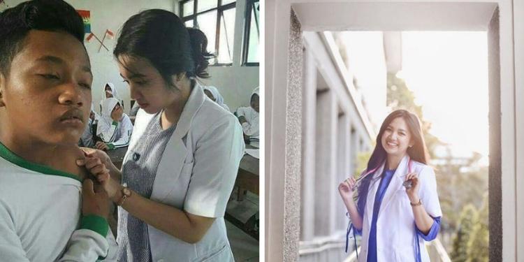 10 Potret Estelita Liana, Dokter Cantik Yang Bikin Kalian Ingin Disuntik Melulu! Dafunda Gokil