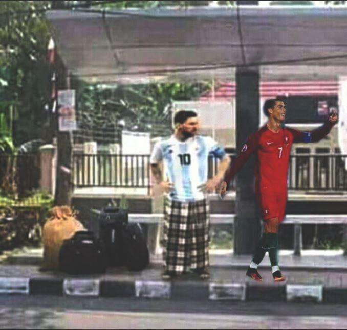 12 Meme Messi Dan Ronaldo Pulang Kampung Setelah Kalah Di Piala Dunia Ini Dijamin Bikin Ngakak! 6