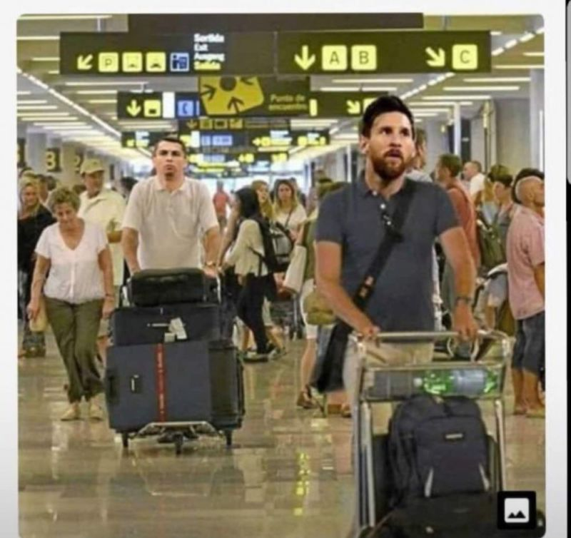 12 Meme Messi Dan Ronaldo Pulang Kampung Setelah Kalah Di Piala Dunia Ini Dijamin Bikin Ngakak! 7