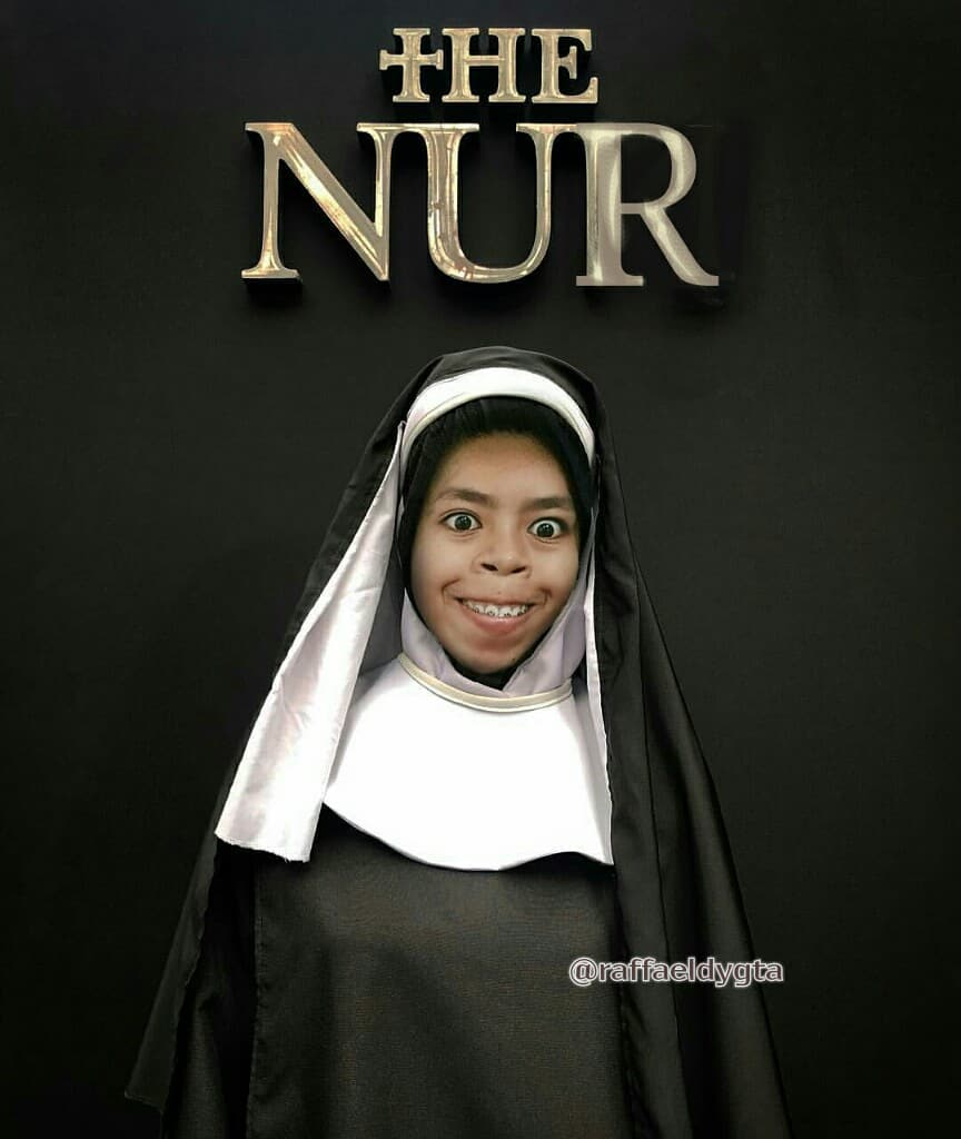 15 Kreasi Netizen Dandan Ala Hantu Valak Di Film The Nun Ini Bikin Ngakak! The Nur