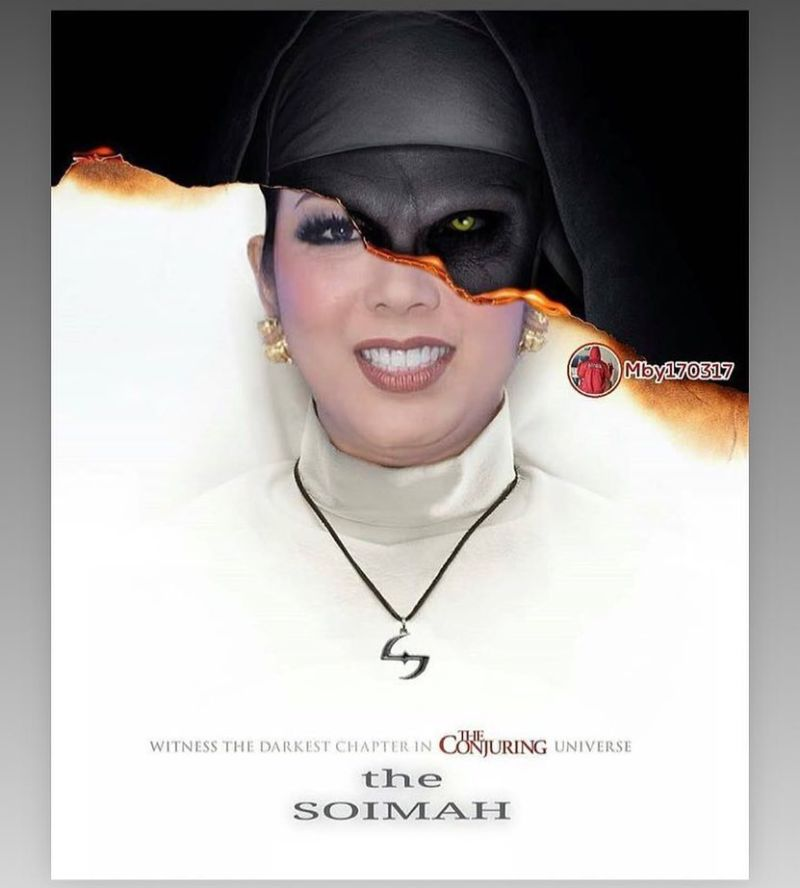 15 Kreasi Netizen Dandan Ala Hantu Valak Di Film The Nun Ini Bikin Ngakak! The Soimah