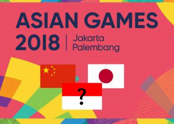 2 Negara Yang Terus Juara Umum Asian Games Muhammad Solihin