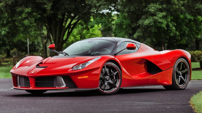 2014 Ferrari Laferrari Kissimmee Auction 01