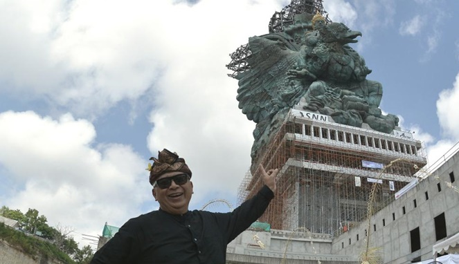 5 Fakta Tentang GWK, Monumen Terbesar Di Indonesia Yang Bakal Kalahkan Patung Liberty Milik AS! Dibuat Oleh Ahli Patung