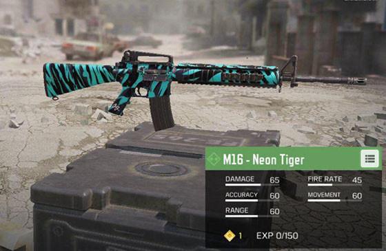 5 Senjata Yang Cocok Untuk Pemula Call Of Duty Mobile M16