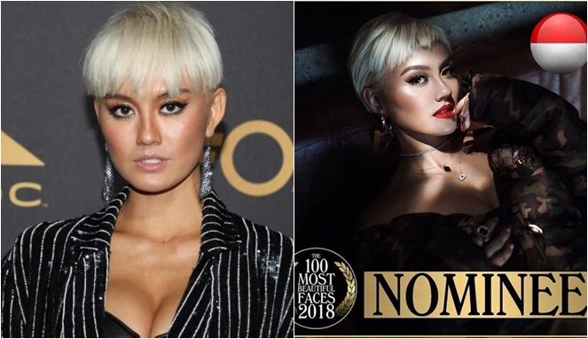 6 Seleb Asal Indonesia Ini Masuk Nominasi Wajah Tercantik Dan Tertampan 2018 Versi TC Candler! Agnez Mo