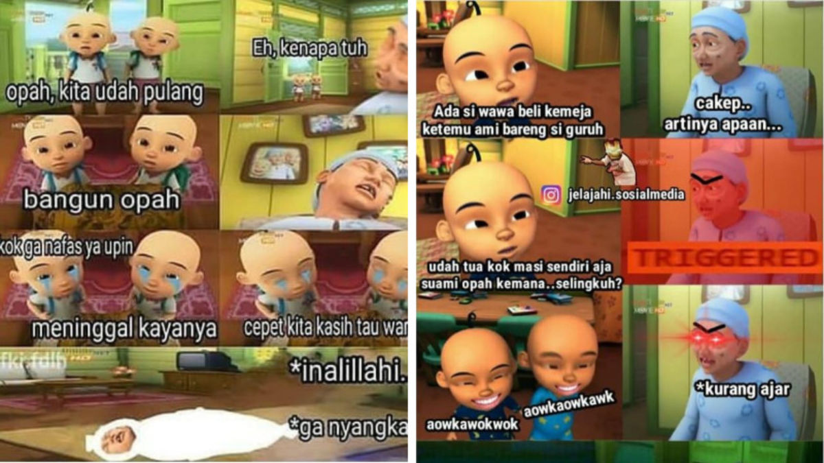 Top Five Video Upin Ipin Bahasa Jawa Jorok
