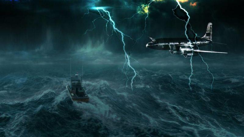 Ada Alien, Inilah 5 Teori Di Balik Misteri Segitiga Bermuda Yang Sangat Mengerikan! Medan Magnet