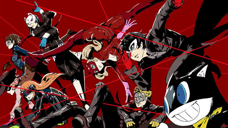 Anime Persona 5 The Animation Dark Sun