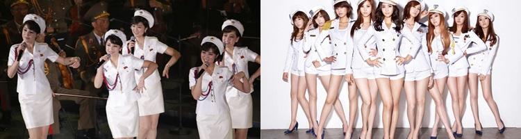 Bagai Langit Dan Bumi, Inilah 5 Perbedaan Girlband Korea Utara Dengan Korea Selatan, Bikin Syok Berat! Kostum